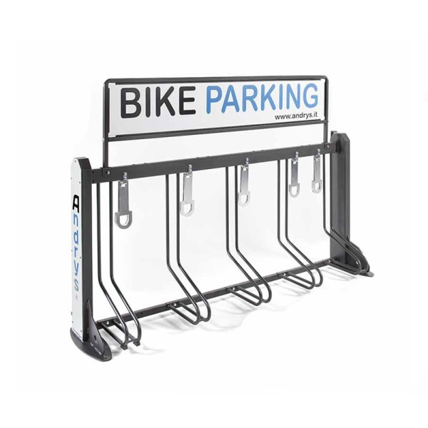rastrelliera porta bici da 5 posti
