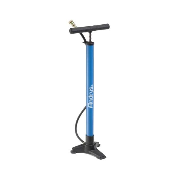 pompa base plastica blu