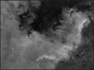 NGC 7000 - Meksyk, Ha-12x900s bin1.