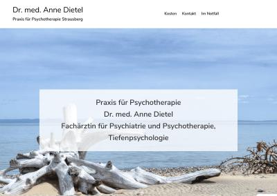 Praxis für Psychotherapie, Strausberg
