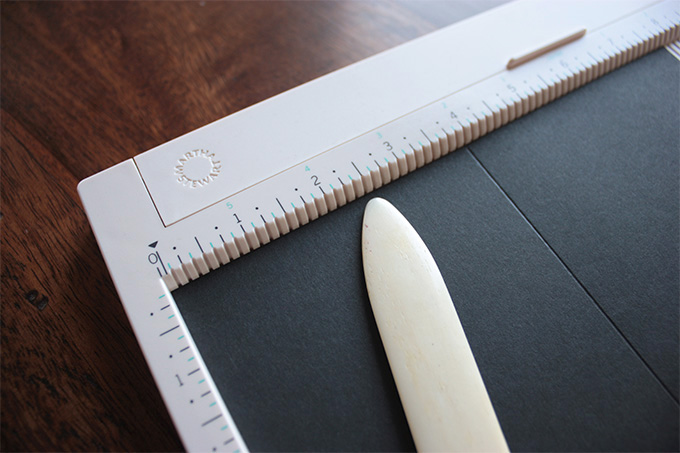 Toolbox: Martha's Score Board Review #productreview #marthastewart #craft #paper #tool