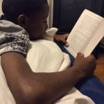 Wordless Wednesday: Who Says Boys Don't Read?