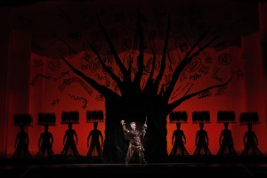The Tree of Life from THE LION KING National Tour.  © Disney Photo: Joan Marcus