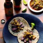 Grilled Chile-Lime Flank Steak Soft Tacos