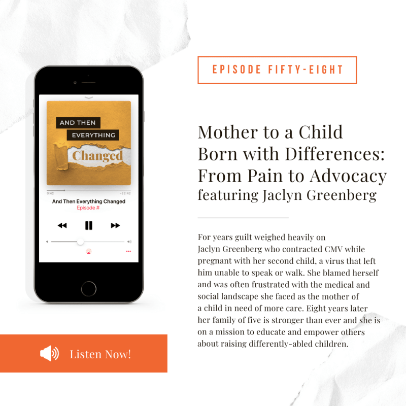 ATEC - Episode 58: Mother to a Child Born with Differences: From Pain to Advocacy ft. Jaclyn Greenberg