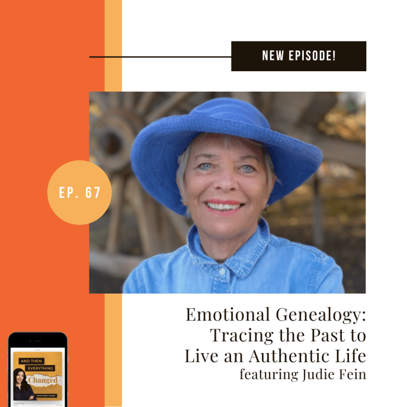 ATEC - Episode 67: Emotional Genealogy: Tracing the Past to Live an Authentic Life ft. Judie Fein