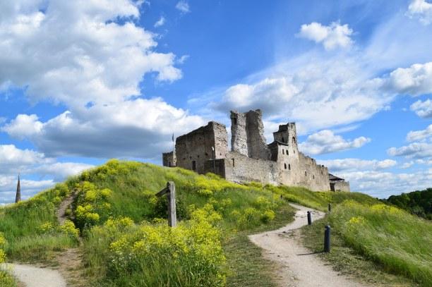 Beautiful Rakvere Castle, Estonia