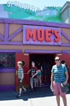 Stop over for a pint of Duff at Moe's