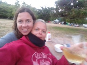 Chilling at San Simeon campsite