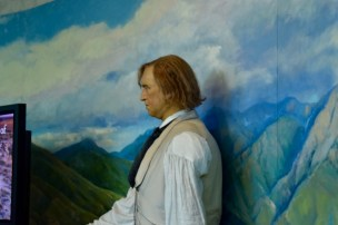 Brigham Young - the main dude of the Mormon faith. Does anyone else see Jeff Bridges?