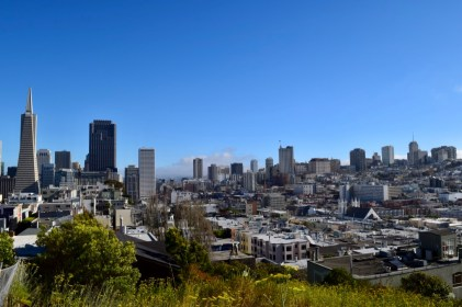 The view from Coit Tower, San Francisco