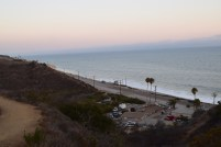 View from rm our campsite in Malibu