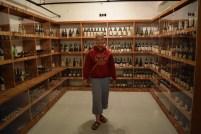 The beautiful wine cellar in Hearst Castle.