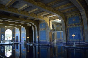 Swimming pool at Hearst Castle