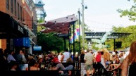 Streets of Fort Collins were full of crowds during the music festival