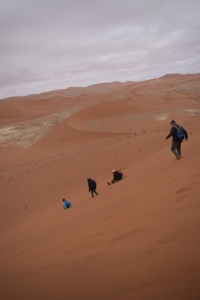 We're getting off this dune!