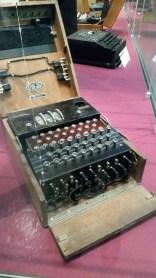 The style of Enigma machine used by the Germans