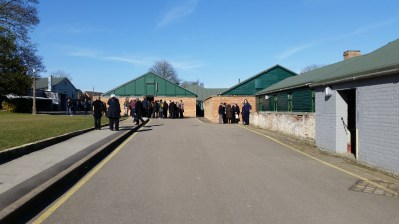 the Huts where codebreakers and their teams worked