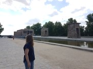 That's the Temple of Debod again!