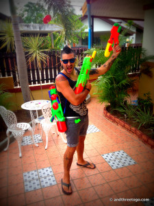 Can never have too many squirt guns...