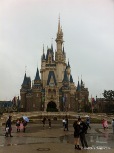 Front view of Cinderella's Castle.