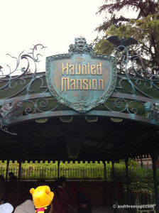 The Haunted Mansion, exactly the same as Disneyland Anaheim (although the monologue was in Japanese).