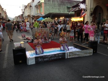 One of the shows at the Walking Street.