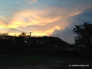Sunset in Chalong, Phuket. I just love the sunsets here.