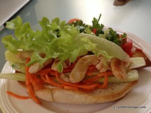 I made homemade Bahn Mi the other day and it was delicious... now I am drooling... guess I better go make lunch.
