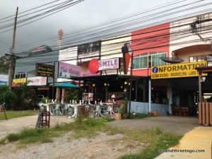 You wouldn't know that this is the best rated restaurant in Khao Lak from the looks of it.