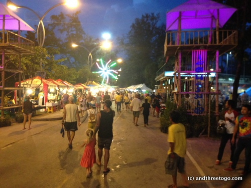This festival was so vibrant. Amazing food, a cool night, and the crowds were fairly light. It was a fantastic time!