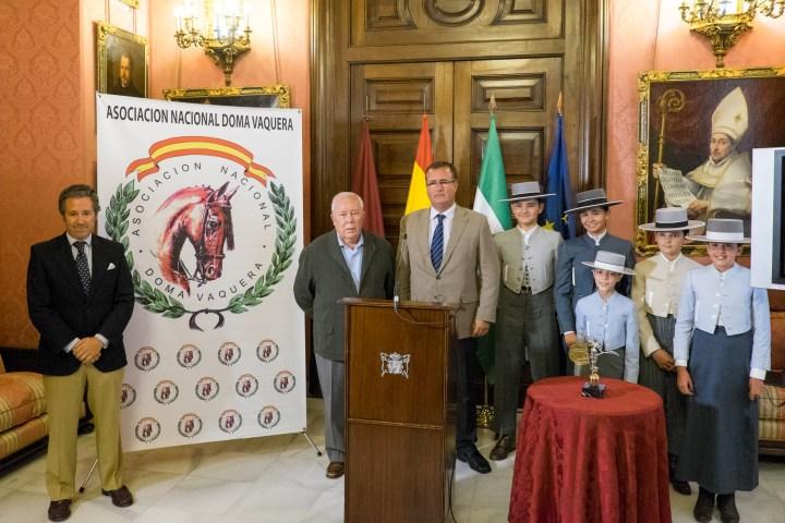 Presentación del I Gran Premio de Doma Vaquera Ciudad de Sevilla