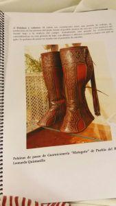Detalle de una de las paginas que integran la documentación técnica para la declaración de la Doma Vaquera como B.I.C. de Andalucía