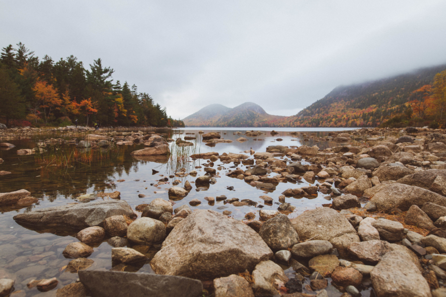Maine Road Trip Acadia National Park Jordan Pond