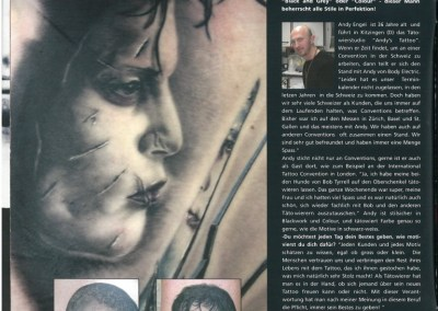TATTOO TIME - Ausgabe 10 - Februar-April 2009