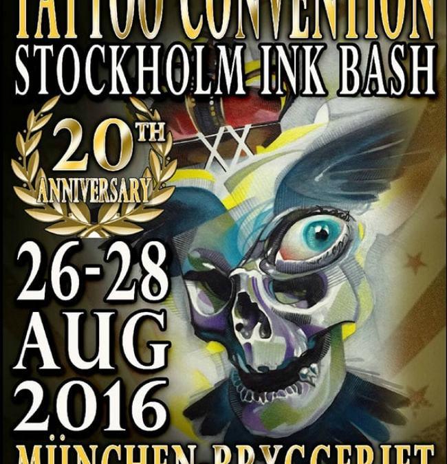 26. – 28.08.2016 Stockholm Ink Bash