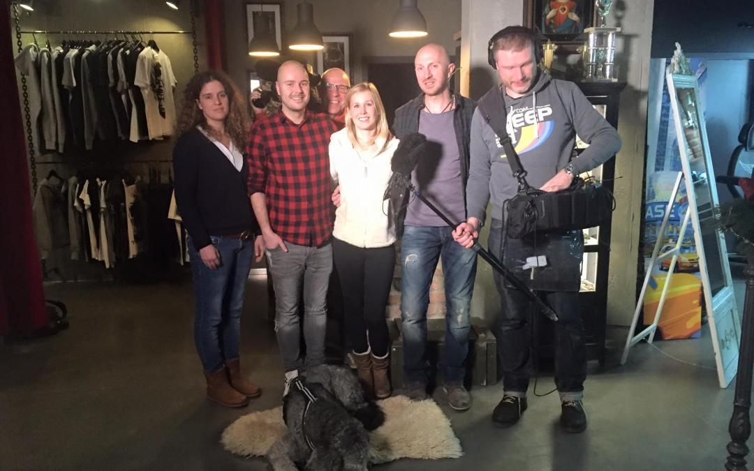 Das Team von Spiegel TV Reportage zu Gast im Studio