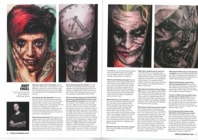 FRESHLY INKED - Vol. 3_Ausgabe 5 - November 2013