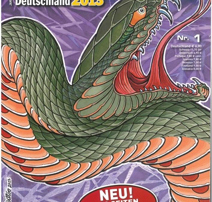 TÄTOWIERER JAHRBUCH DEUTSCHLAND 2013 – Ausgabe 1