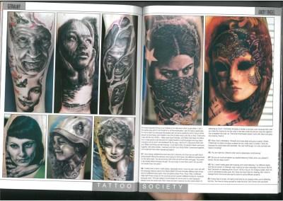TATTOO SOCIETY - Ausgabe 34 - September 2012
