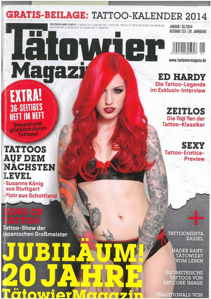 Tätowier Magazin - Ausgabe 215 - Januar 2014