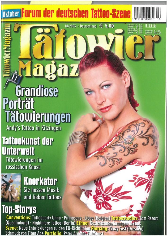 Tätowier Magazin - Ausgabe 92 - Oktober 2003