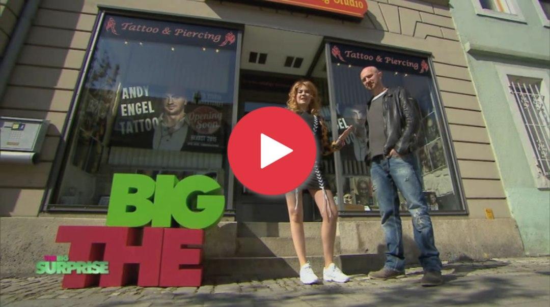 """Andy Engel und Flo bei """"THE BIG SURPRISE"""" auf PRO 7"""
