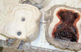 Process: Teddy Bear Molds