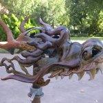 Andy Rader: Aluminum Dragon Helmet