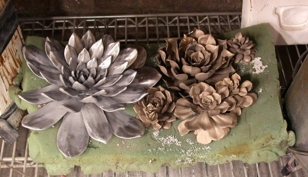 Andy Rader: Bronze and AluminumSucculents