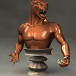 Andy Rader: Wolf Bust