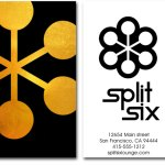 Andy Rader - Split Six - Business Cards