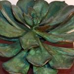 Andy Rader: Bronze Casting: Echeveria