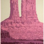 Andy Rader - Screenprint - Valley of the Gods